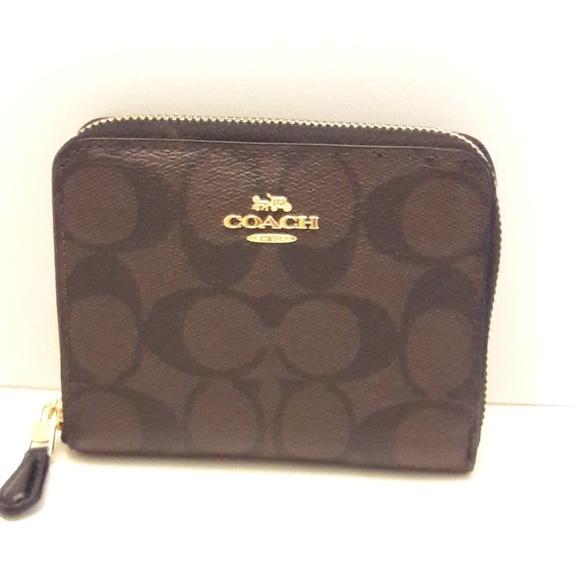 Coach Handbags - 🎈🎈SALE 40%OFF🎈Coach black / brown wallet